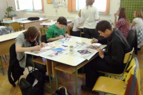 Közös alkotás a festészet napján 2011