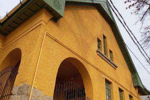 Iskolánk felújított régi épülete