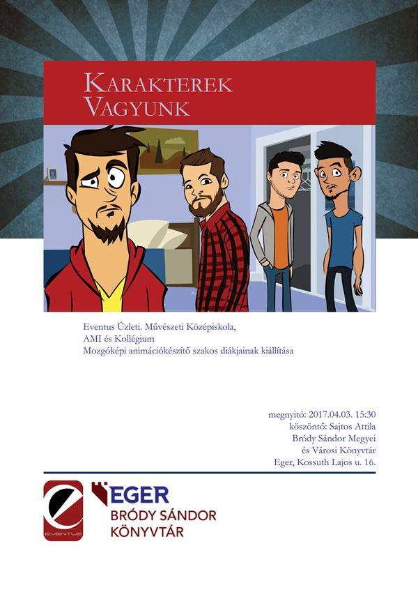 Könyvtar animacio plakat
