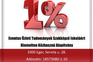 adó 1 szazalék