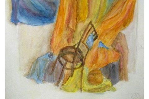 Rajz-Festészet órán készült munkák
